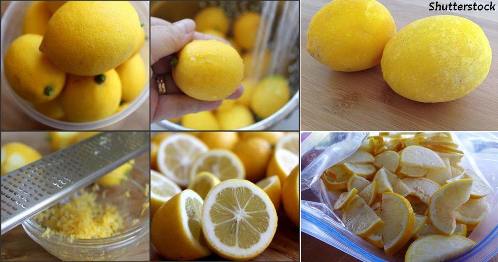 Sužinoję šią informaciją, nuo šiol citrinas šaldysite ir jūs