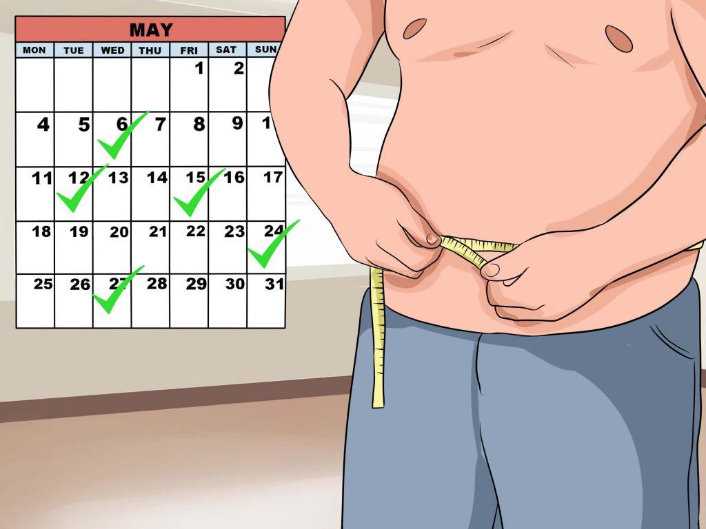 Ar galiu numesti svorio per 8 savaites