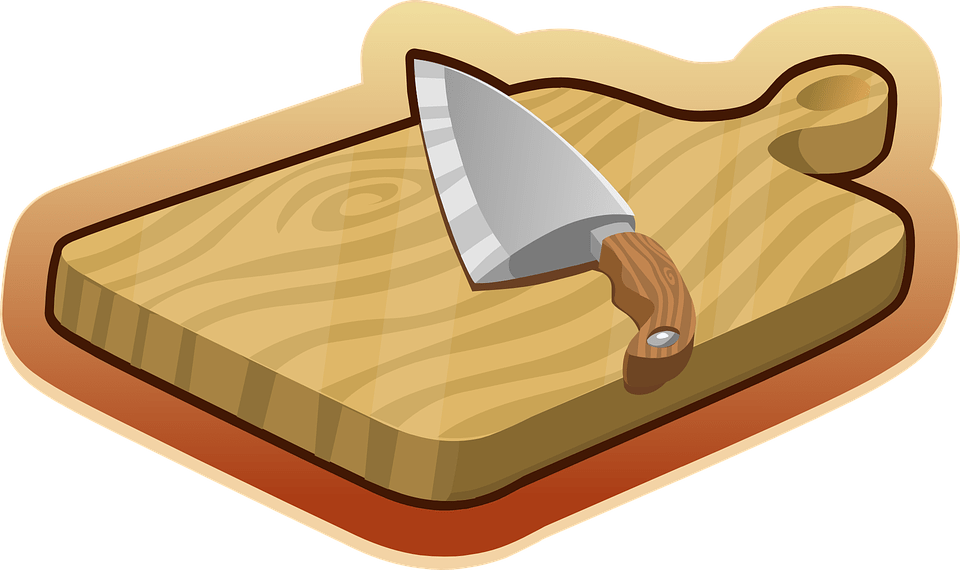 pjaustymo lenta, peilis