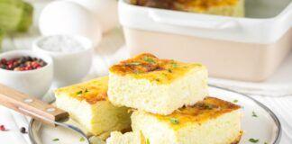 Omletas su sūriu. Prisiminkite skanų vaikystės patiekalą!