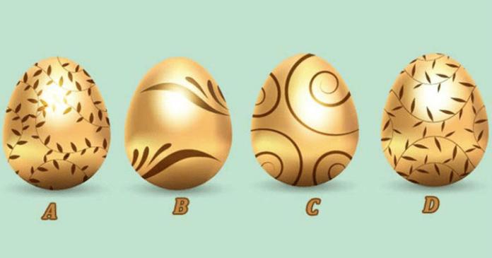 Auksinis kiaušinis atskleis įdomius faktus apie jūsų asmenybę