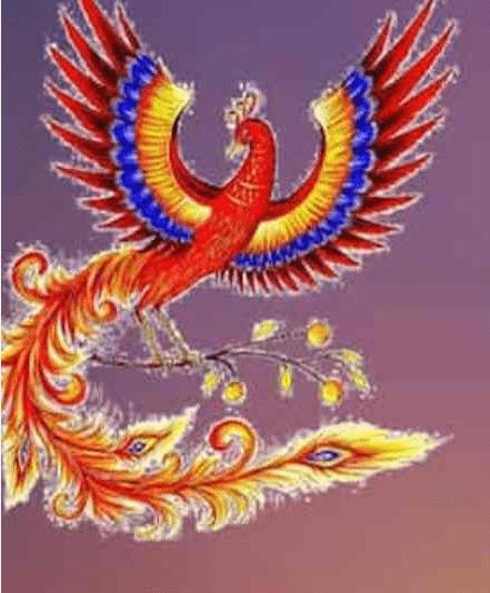 laimės paukštis