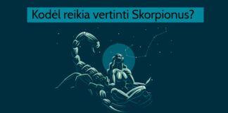 Skorpionas jūsų gyvenime? 9 priežastys, kodėl turite juos vertinti!