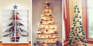 Kalėdų eglutės. Originalios idėjos, kaip papuošti namus!