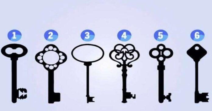 Testas: pasirinkite raktą ir sužinokite faktų apie savo charakterį