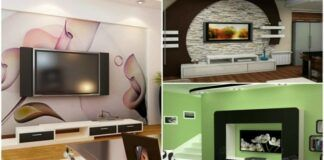 Idėjos, kaip stilingai namuose įsirengti vietą televizoriui