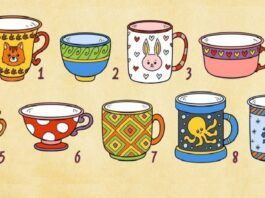 Testas. Pasirinkite puodelį ir sužinokite, koks žmogus esate!