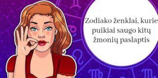 Zodiako ženklai, kurie puikiai saugo kitų žmonių paslaptis