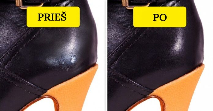 Atnaujinkite batus. 10 būdų, kad batai atrodytų tarsi nauji!