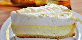 """Varškės pyragas """"Angelo ašaros"""". Tobulas skonis ir neįprastas vaizdas!"""
