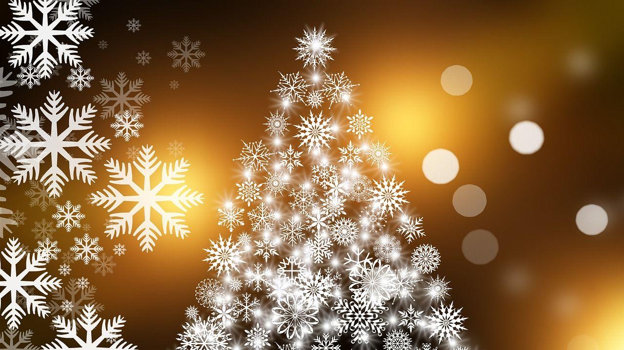 kalėdos, eglutė, snaigės