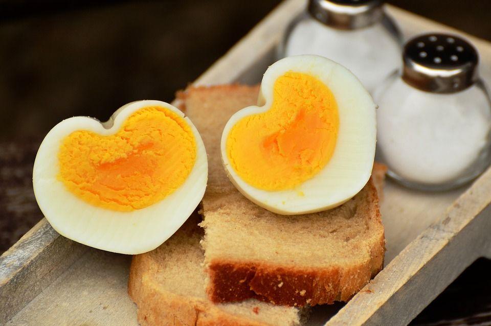 valgyti kiaušinius
