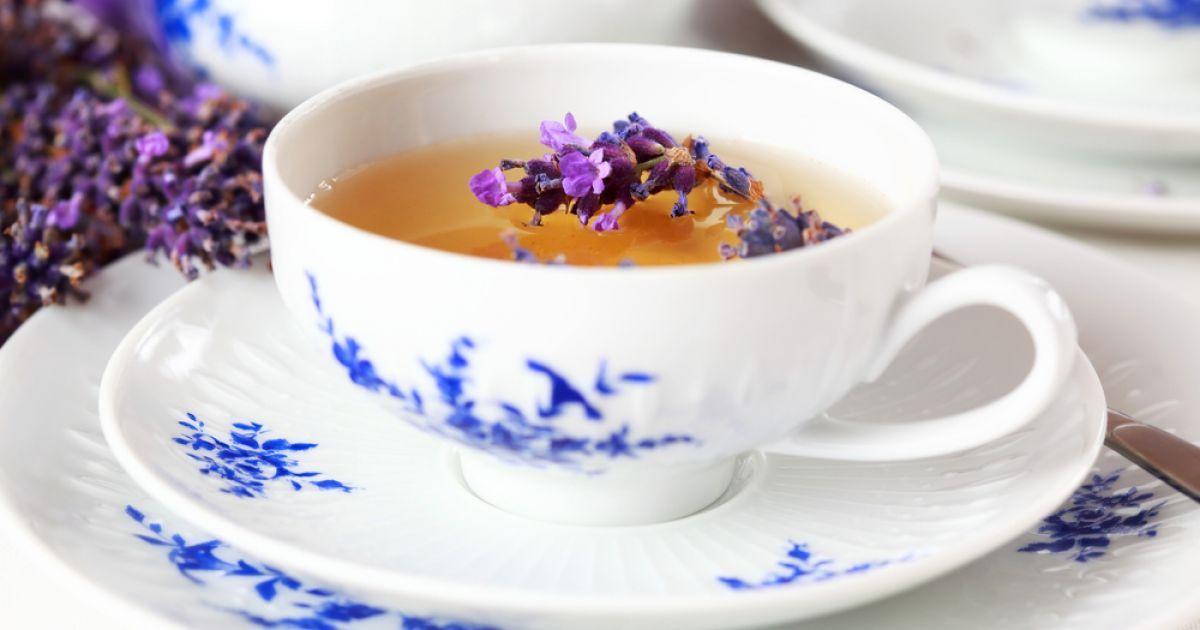 Levandų arbata