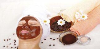 Veido kaukė su kava: stipri bei atitolinanti senatvę. Pasilepinkite