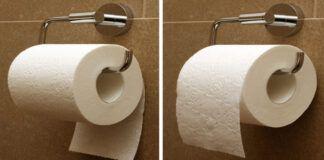 Tai, kaip kabinate tualetinio popieriaus ritinėlį atskleidžia faktus apie jus