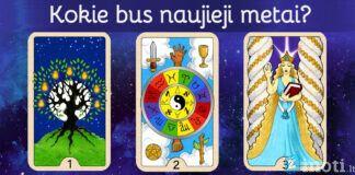 Pasirinkite kortą ir sužinokite, kokie jums bus šie metai!