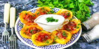Įdarytos bulvės: labai skanus ir lengvai paruošiamas patiekalas