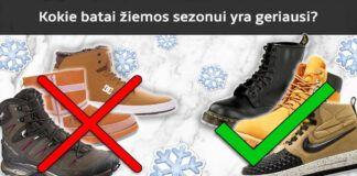Žieminiai batai. Kurių batų geriau nesirinkti, nes jie nemadingi?