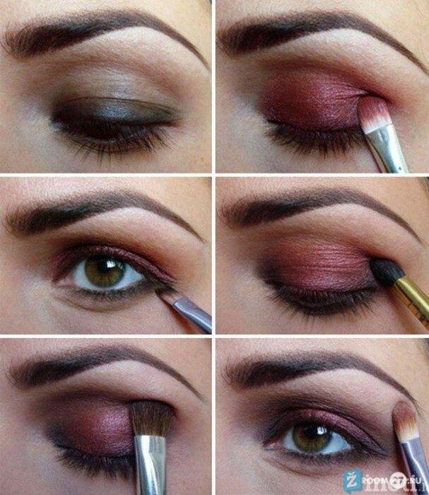 makiažo idėjos rudoms akims