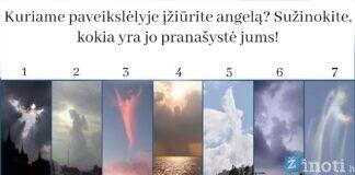 Testas: kuriame paveikslėlyje įžiūrite angelą? Sužinokite jo pranašystę