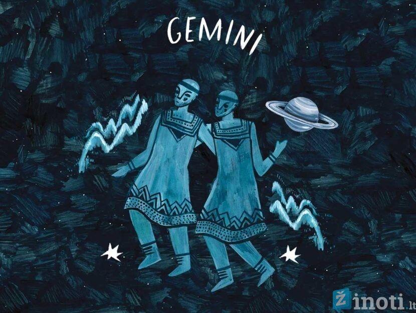 dvyniai, savaitės horoskopas, zodiako ženklai