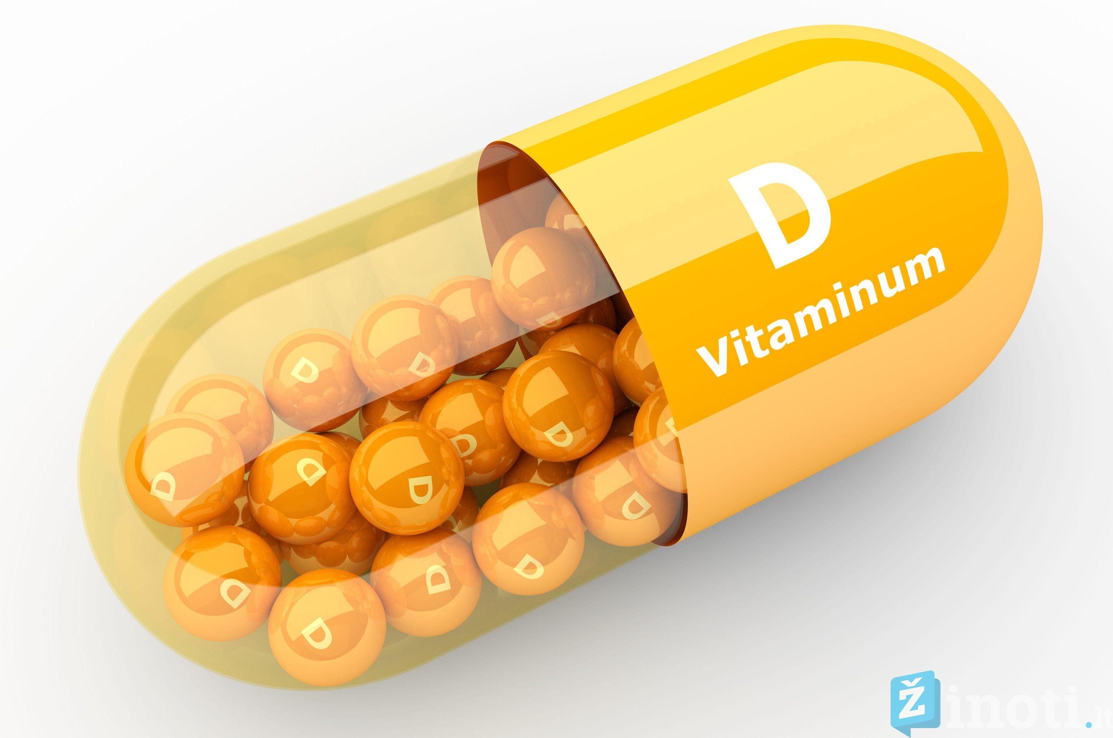 vitaminas D ir kalcis