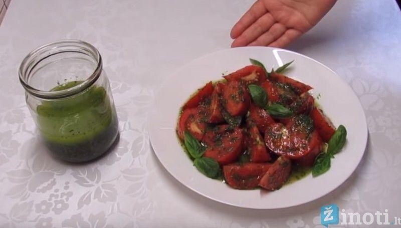 pomidorų užkandis