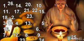 Pasirinkite numerį iš paveikslėlio ir gaukite patarimą ateičiai