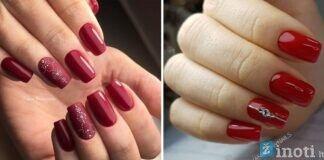 Raudoni atspalviai: pasisemkite stilingų manikiūro idėjų