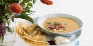 Žirnių sriuba su blynais. Neįprastas receptas, kuris nepaliks abejingų