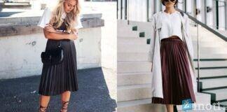 Plisuotas sijonas. Kaip jį derinti ir atrodyti nepakartojamai?