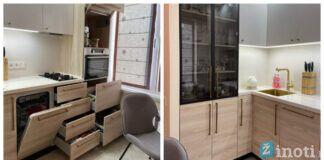 6 kvadratinių metrų virtuvė. Pamatykite, kaip ją įrengti stilingai!