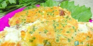 Pusryčių omletas, jį pagaminti užtruksite vos 10 minučių!