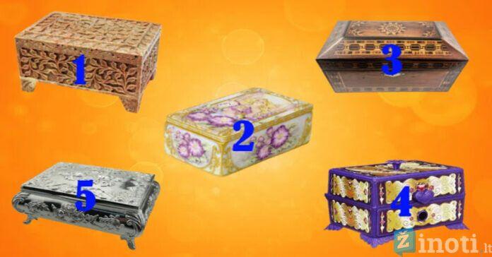 Pasirinkite dėžutę ir sužinokite, kas jūsų laukia artimiausiu metu