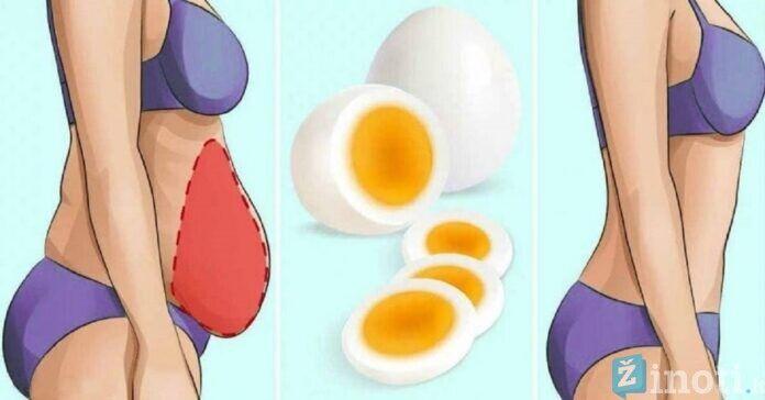 Virtų kiaušinių dieta. Numeskite iki 15 kg ir išlikite sveiki!