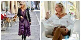 7 madingi įvaizdžiai moterims, vyresnėms nei 50 metų