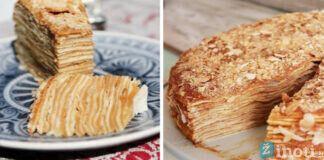 Pasakiško skonio prancūziškas blynų pyragas. Išbandykite!