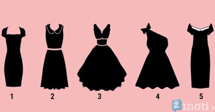 Pasirinkta suknelė atskleis tiesą apie jūsų asmenybę