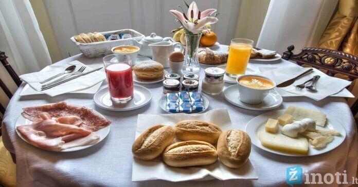 Kokie pusryčiai, padeda greičiau numesti svorio ir jaustis geriau?