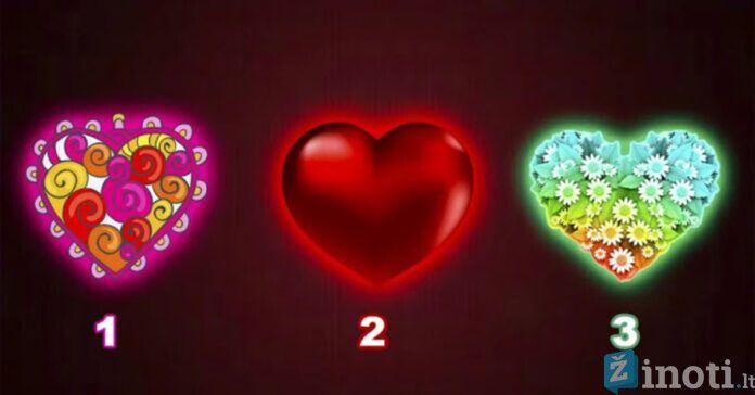 Pasirinkite širdį ir sužinokite, kokie įvykiai jūsų laukia artimiausiu metu