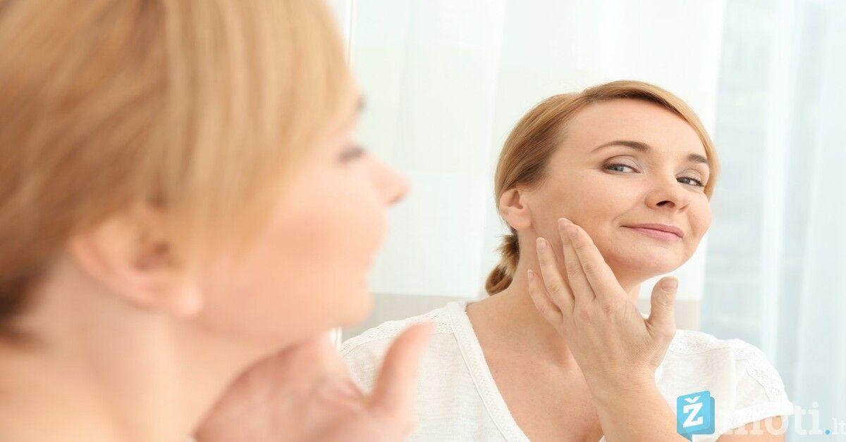Paprastas pratimas padės padailinti veido kontūrus. Išbandykite