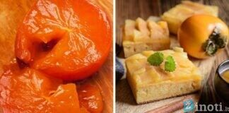 Persimonų pyragas. Desertas, kuriam sunaudosite pernokusius vaisius