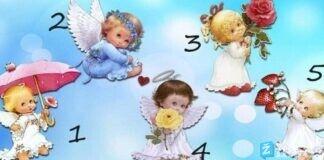 Testas: pasirinkite angelą ir skaitykite jo siųstą žinutę
