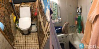 Pora persitvarkė vonios kambarį, nors atrodė, kad nieko neišeis padaryti