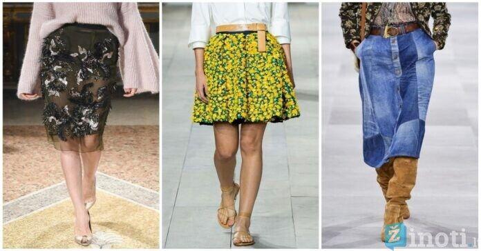 Sijonai! Plisuoti, džinsiniai, nėriniuoti- rinkitės stilingiausią ir šauniausią