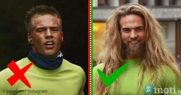 9 nuotraukos, įrodančios, kad vyrai ilgais plaukais yra gražūs