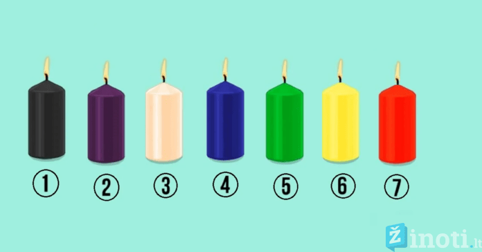 Pasirinkite žvakę ir sužinokite daugiau apie savo charakterį
