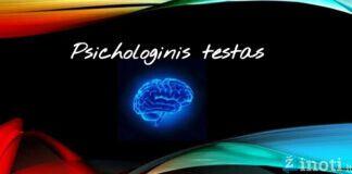 Psichologinis testas nulems tikrąjį jūsų charakterį. Išbandykite!