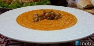 Moliūgų sriuba su avinžirniais. Sotus ir sušildantis patiekalas