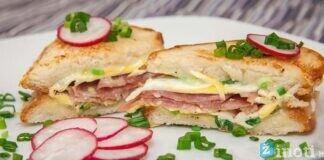 Orkaitėje kepti vištienos sumuštiniai. Greiti ir gardūs pusryčiai